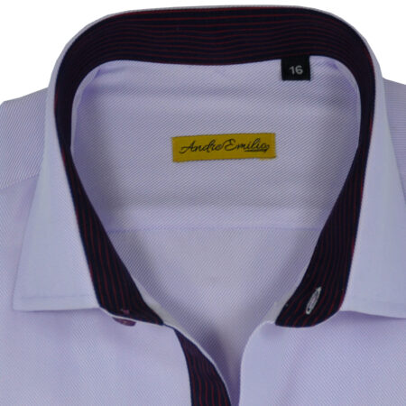 Formal White Modern Fit Shirt 9