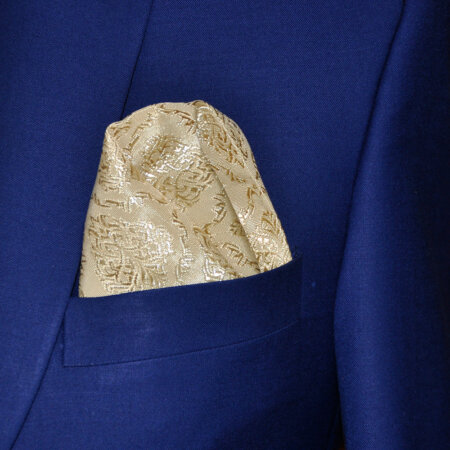 Maroon Silk Pocket Square 2