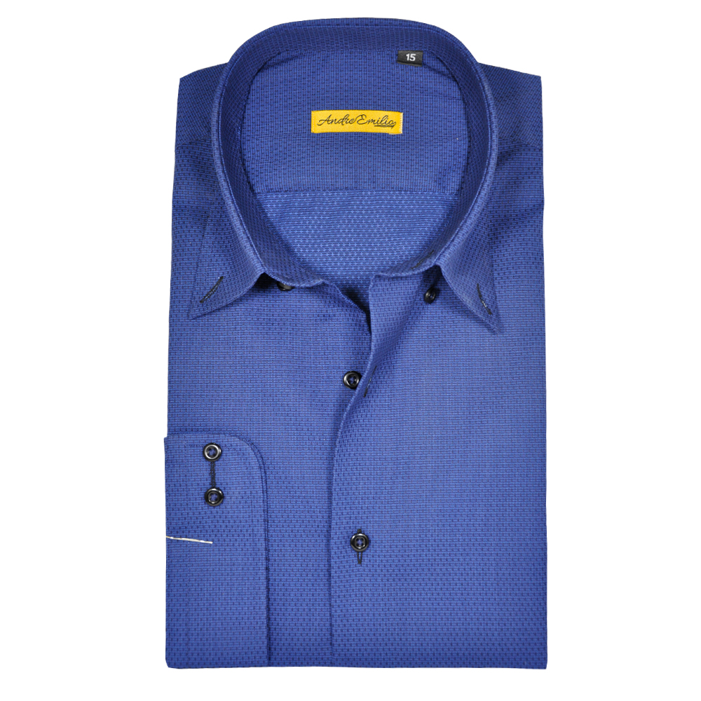 royal blue Formal shirt