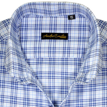 White Striped Button Down Formal Shirt 13