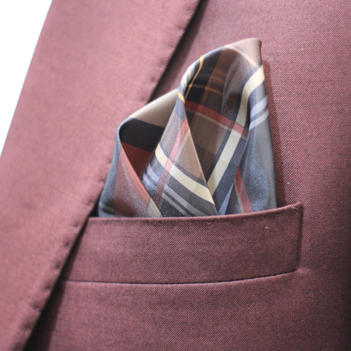 Mix Colour Rayon & Polyester mix Hand made Pocket Square