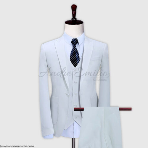 White 3 Piece Suit