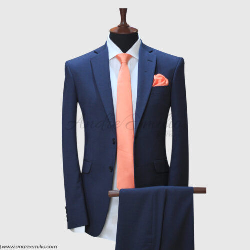 2 Piece Blue Suit for Men