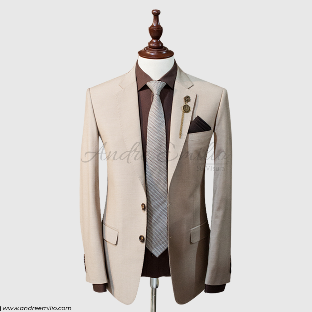 Light brown 2 piece Suit