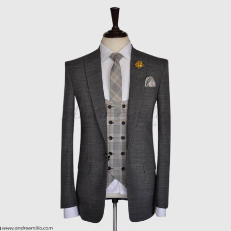 Iron Grey 3 Piece Suit