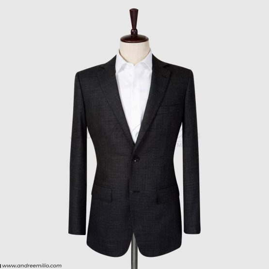 Jet Black 2 Piece Suit