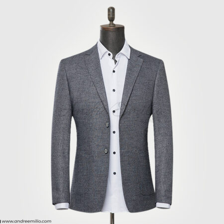 Textured Gray Blazer