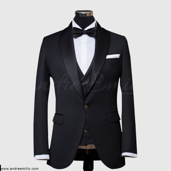 Buy Men's Black shawl Lapel TuxedS