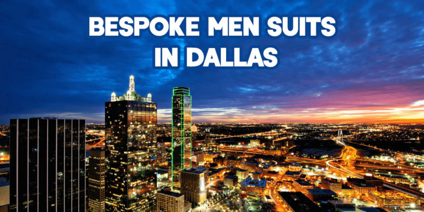 Bespoke Men Suits In Dallas
