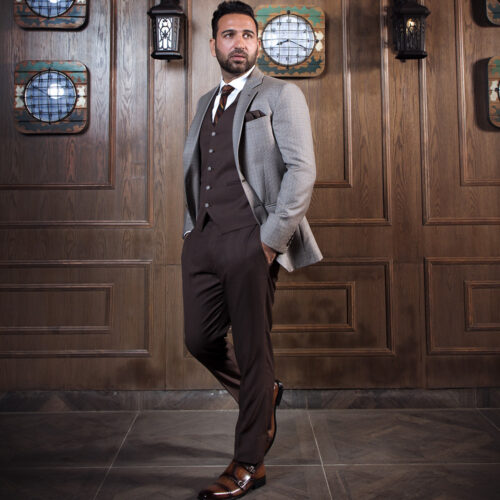 Chocolate Brown 3 Piece Suit