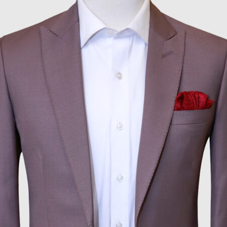 Cherry Pink 2 Piece Suit (3)