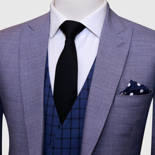 3 Piece Light Grey Suit