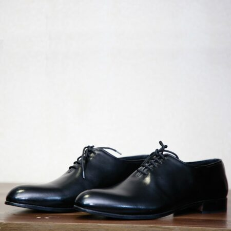 Black Lace Up Derby