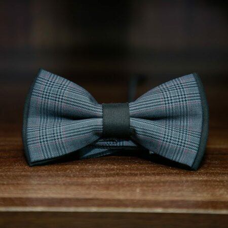 Men's Grey Bow Tie
