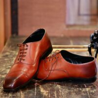 Brown Lace Up Derby 2
