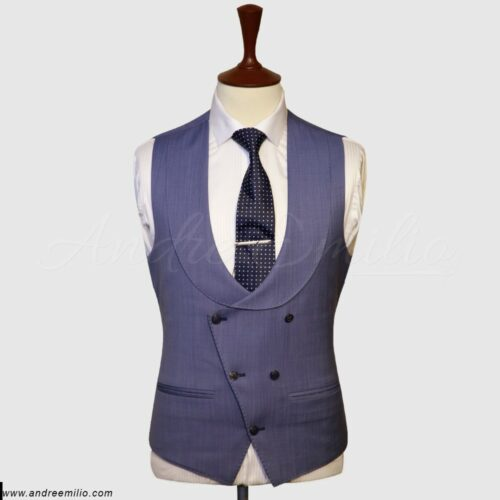 Double Breasted U Shaped Vest