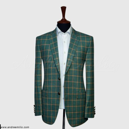 Green Checked Blazer (1)