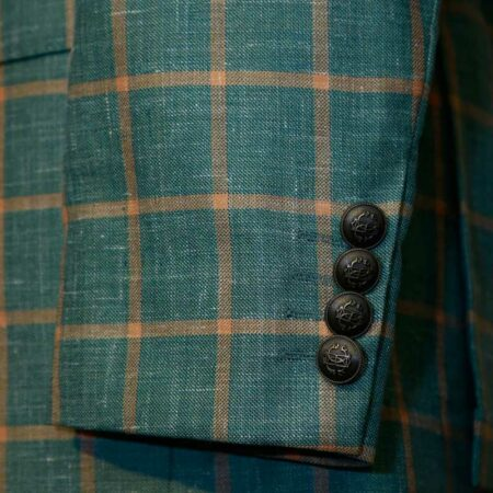 Green Checked Blazer (2)