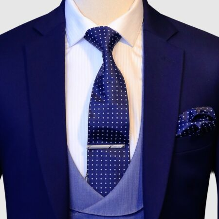 Egyptian Blue 3 Piece Suit (1)