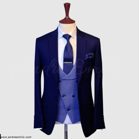 Ink Blue 3 Piece Suit