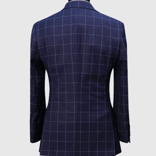 Glen Check 3 Piece Suit (2)