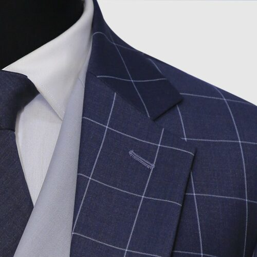Glen Check 3 Piece Suit (5)