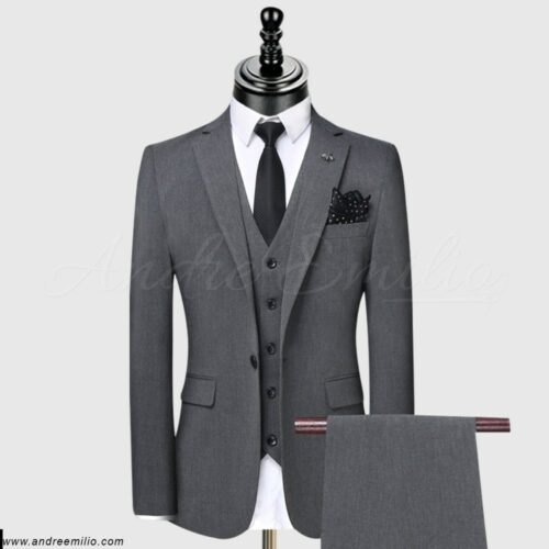 Dark Grey Suit