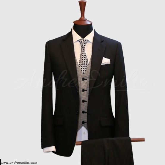 Black 3 Piece Suit