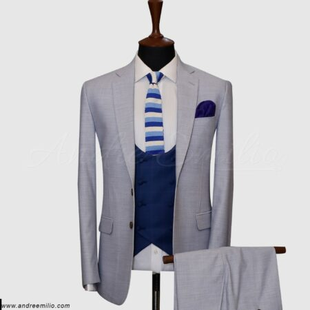 Light Grey 3 Piece Suit