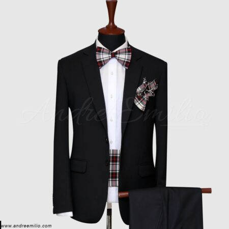 Black 2 Piece Suit