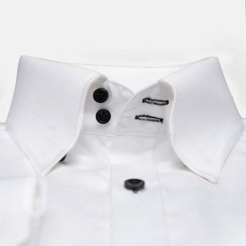 Formal White Modern Fit Shirt (2)