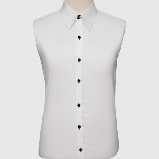 Formal White Modern Fit Shirt (3)