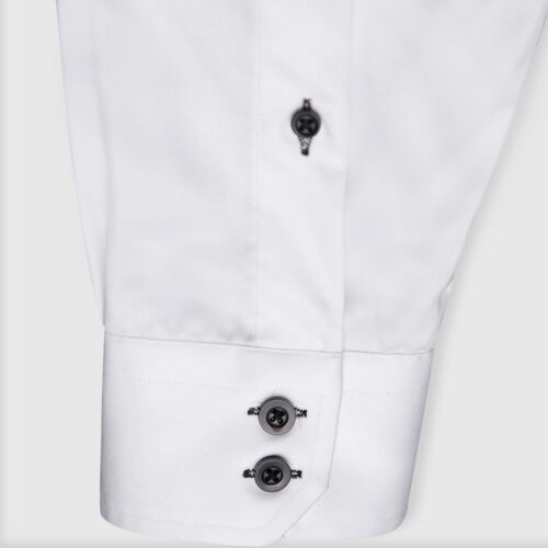 Formal White Modern Fit Shirt (4)