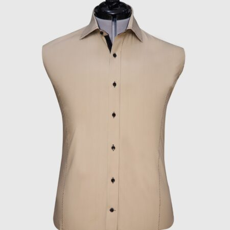 Luxury Camel Color Shirt (1)