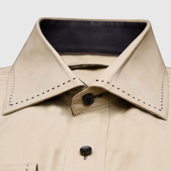 Luxury Camel Color Shirt (3)