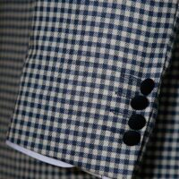 Off-White Gingham Suit 7