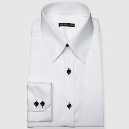 White Modern Fit Shirt