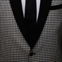 Off-White Gingham Suit 5