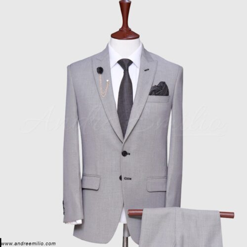 Grey 2 Piece Suit