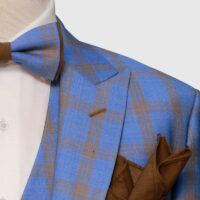 Blue Glen Checked Suit 9