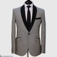 Off-White Gingham Suit 1