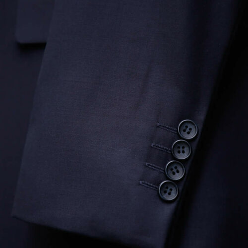 Navy Blue 3 Piece Suit Sleeves