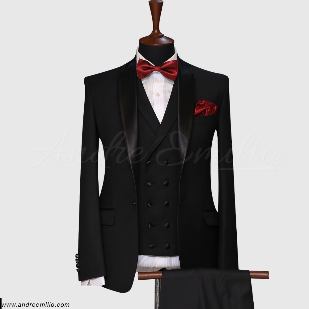 Royal Black Slim Fit Tuxedo