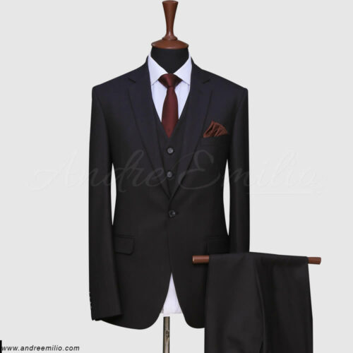 Grayish Black Suit