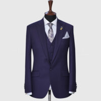 Plum 3 Piece Suit 1