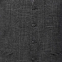 3 Piece Black and Gray Suit 6