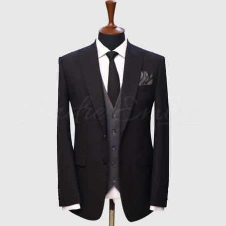 Black Suit And Waistcoat